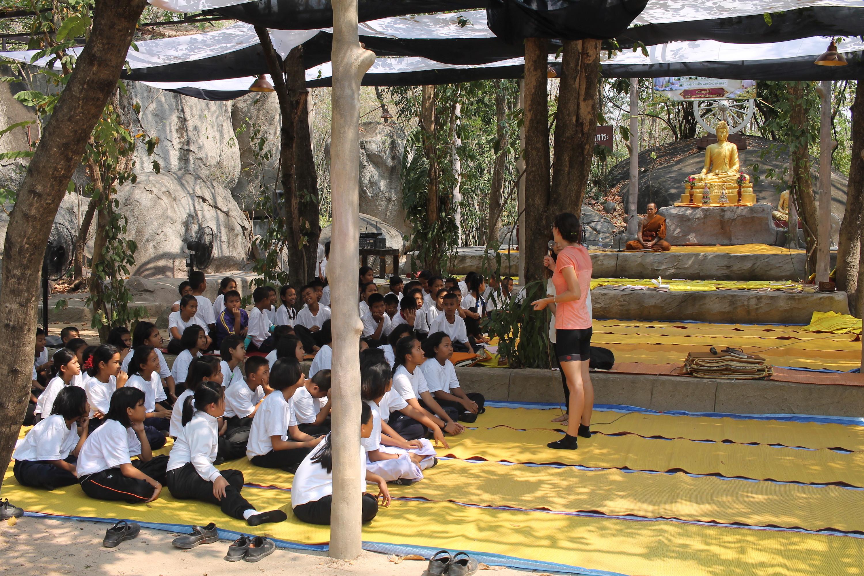 teaching children thailand