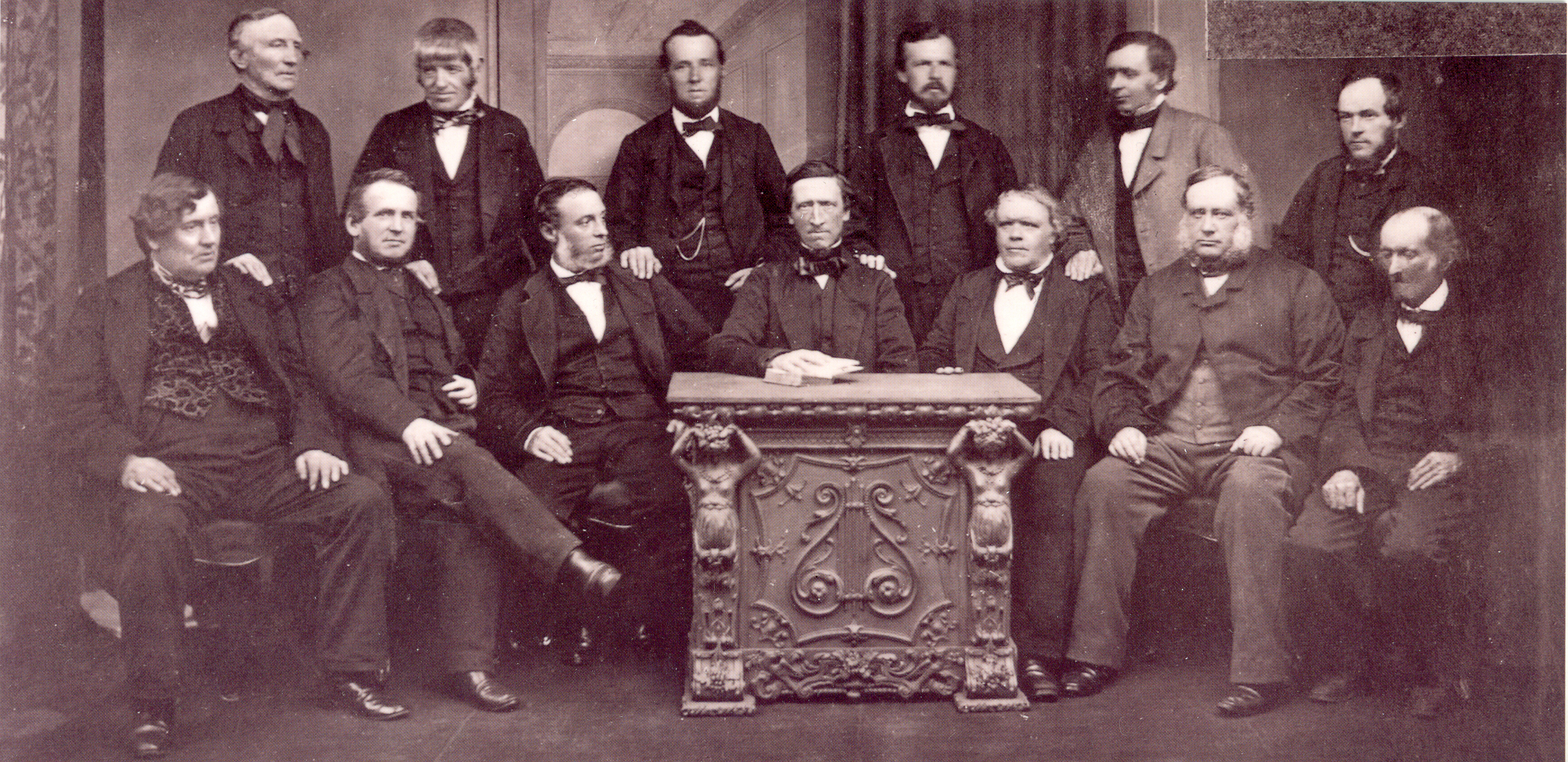 Co-operatives Rochdale Pioneers photograph of 1865