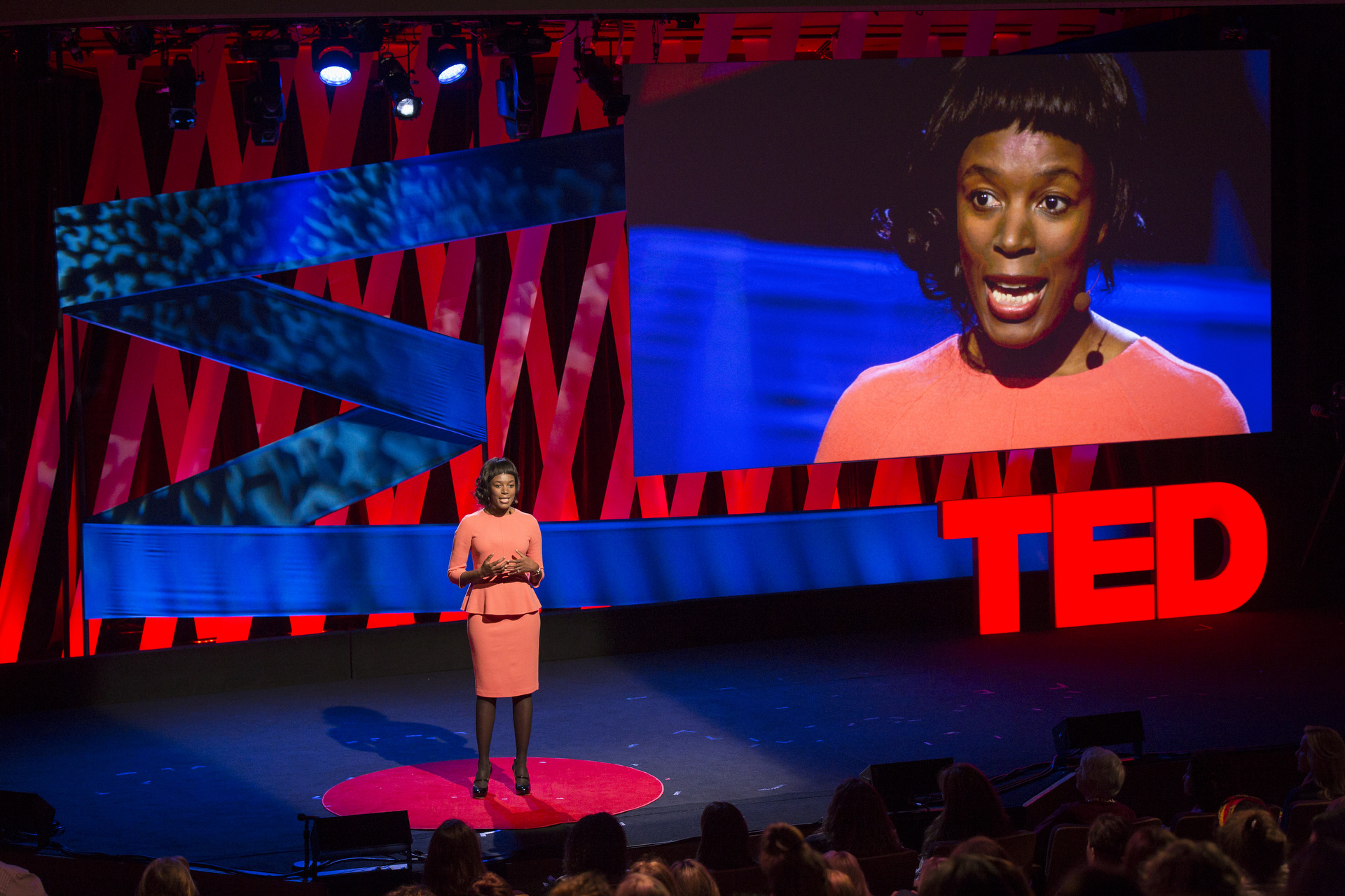 Elizabeth Nyamayaro speaks at TEDWomen2015