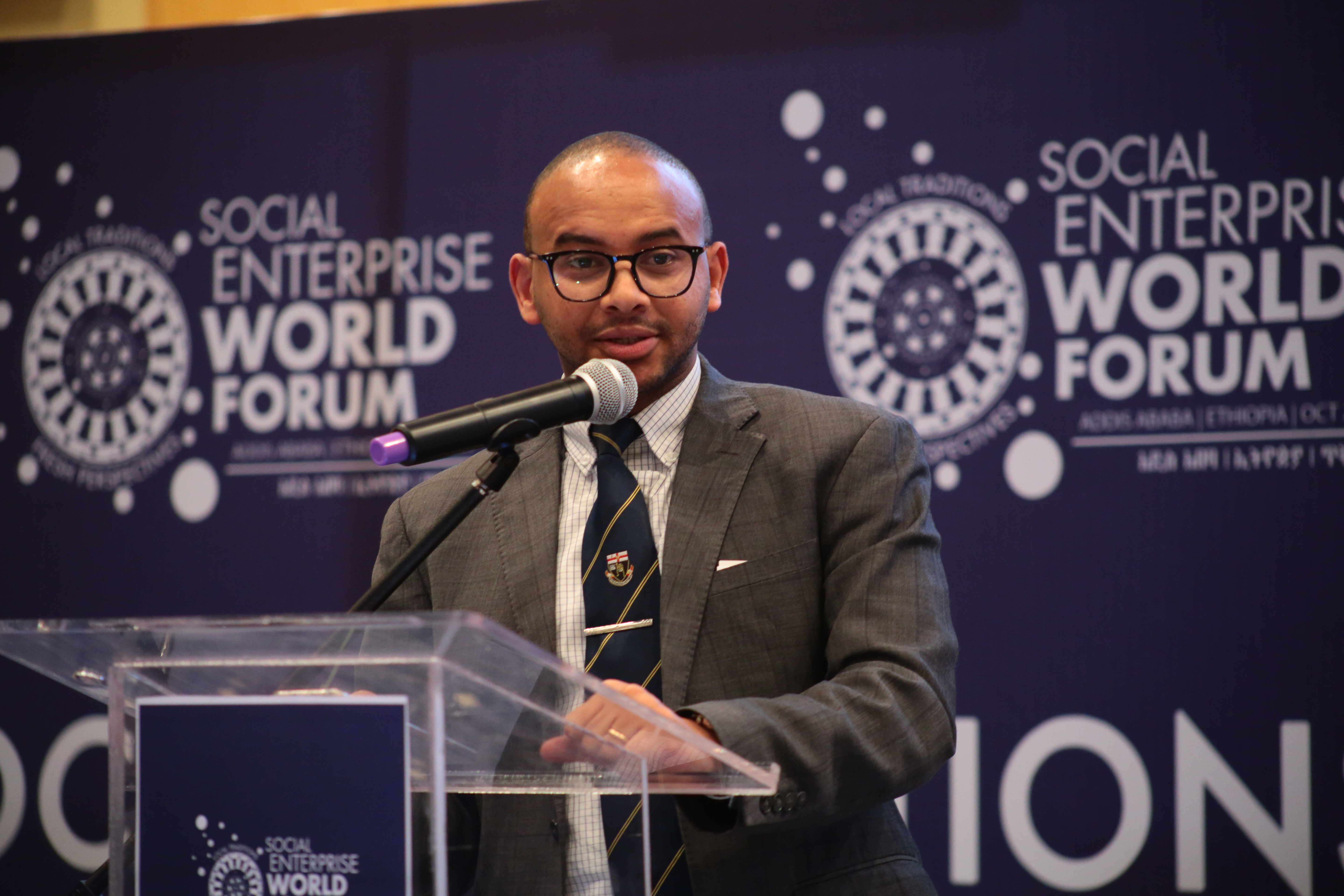 Ethiopian government official SEWF 2019