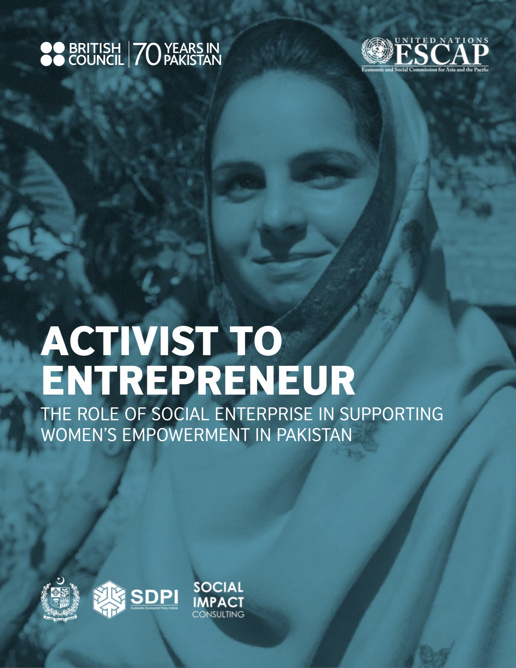 Activist to entrepreneur Pakistan report cover