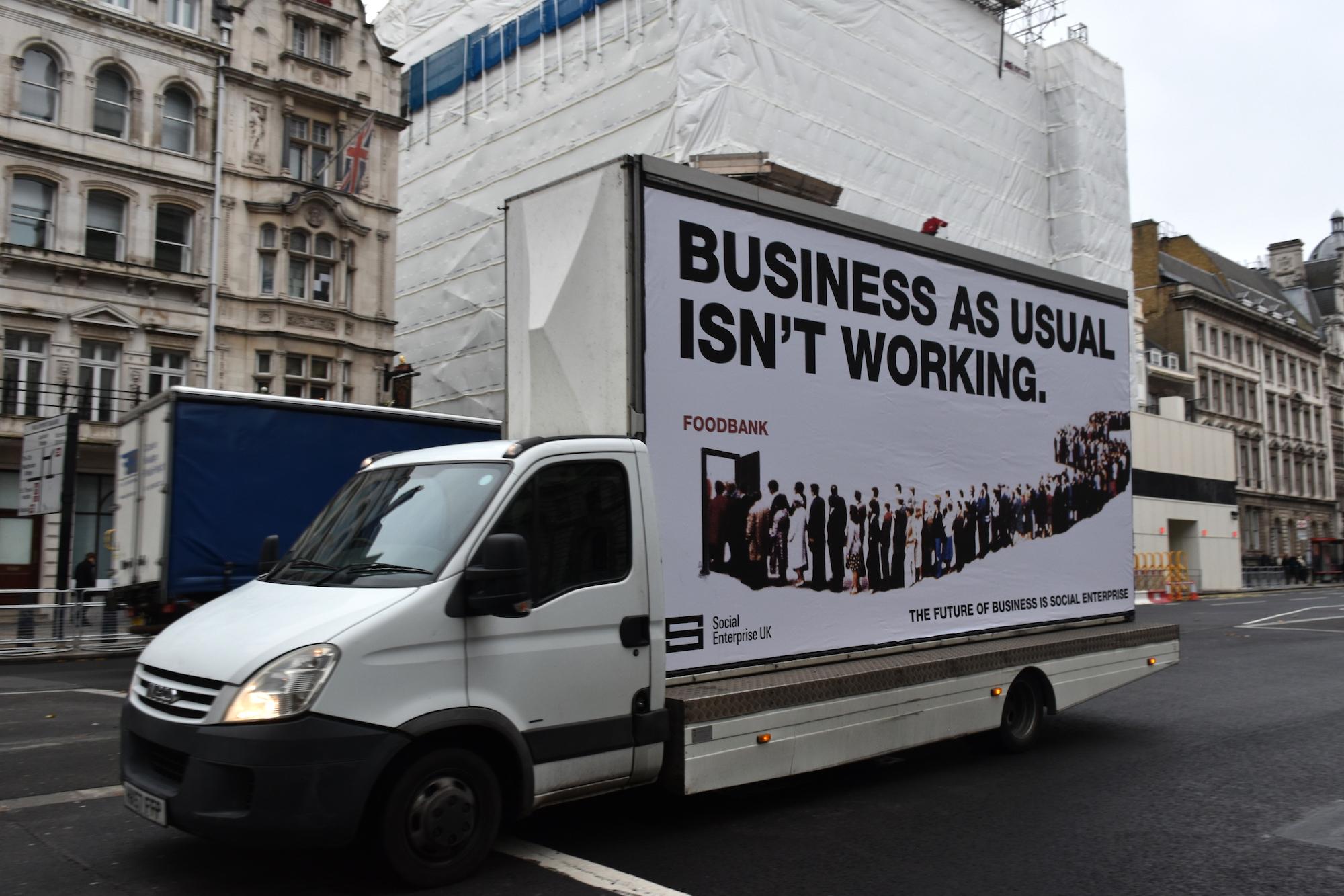 Ad van - SEUK campaign December 2019