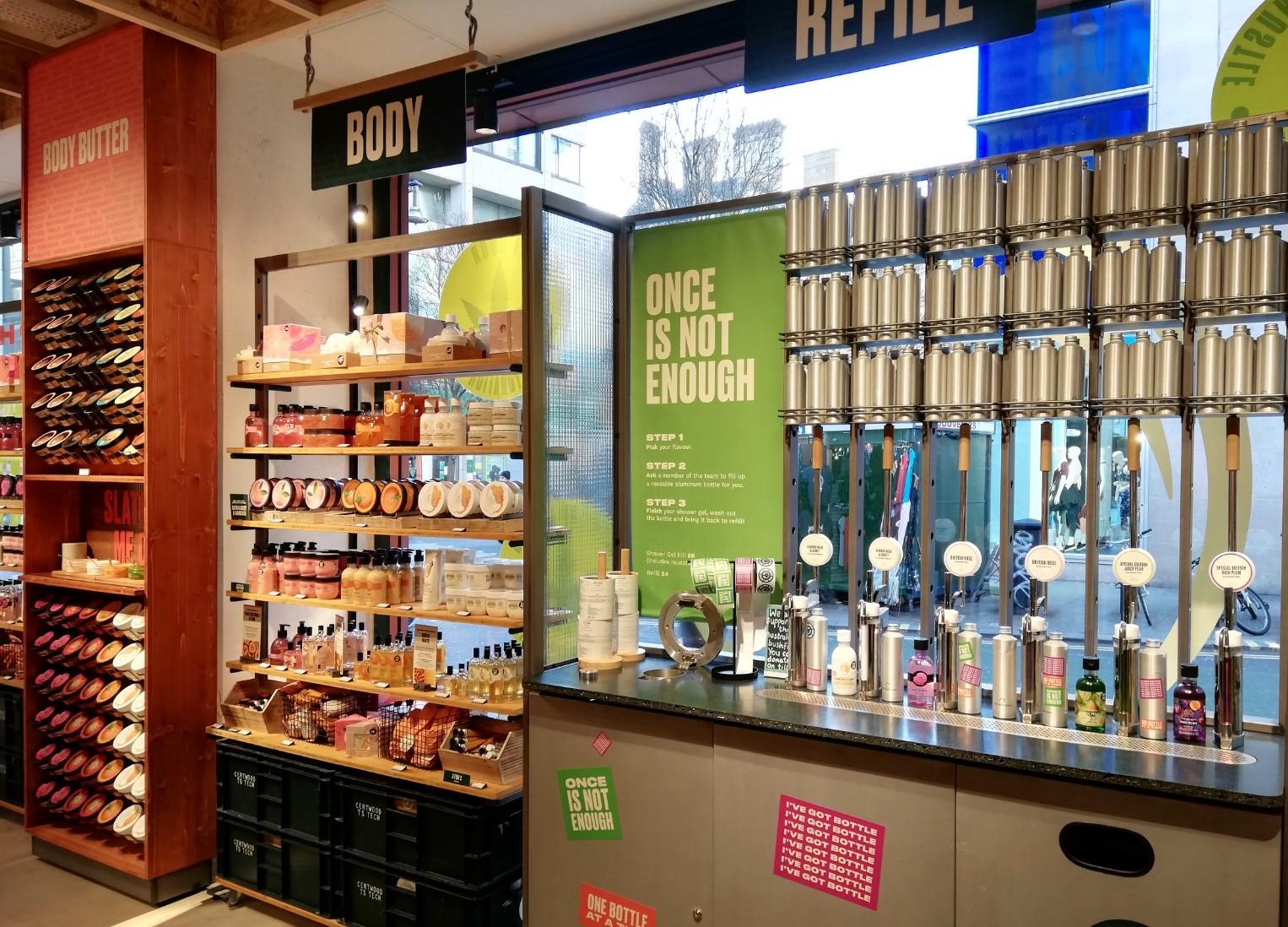 Body Shop London store