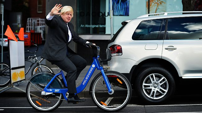 Boris Johnson_cycling_London Mayor