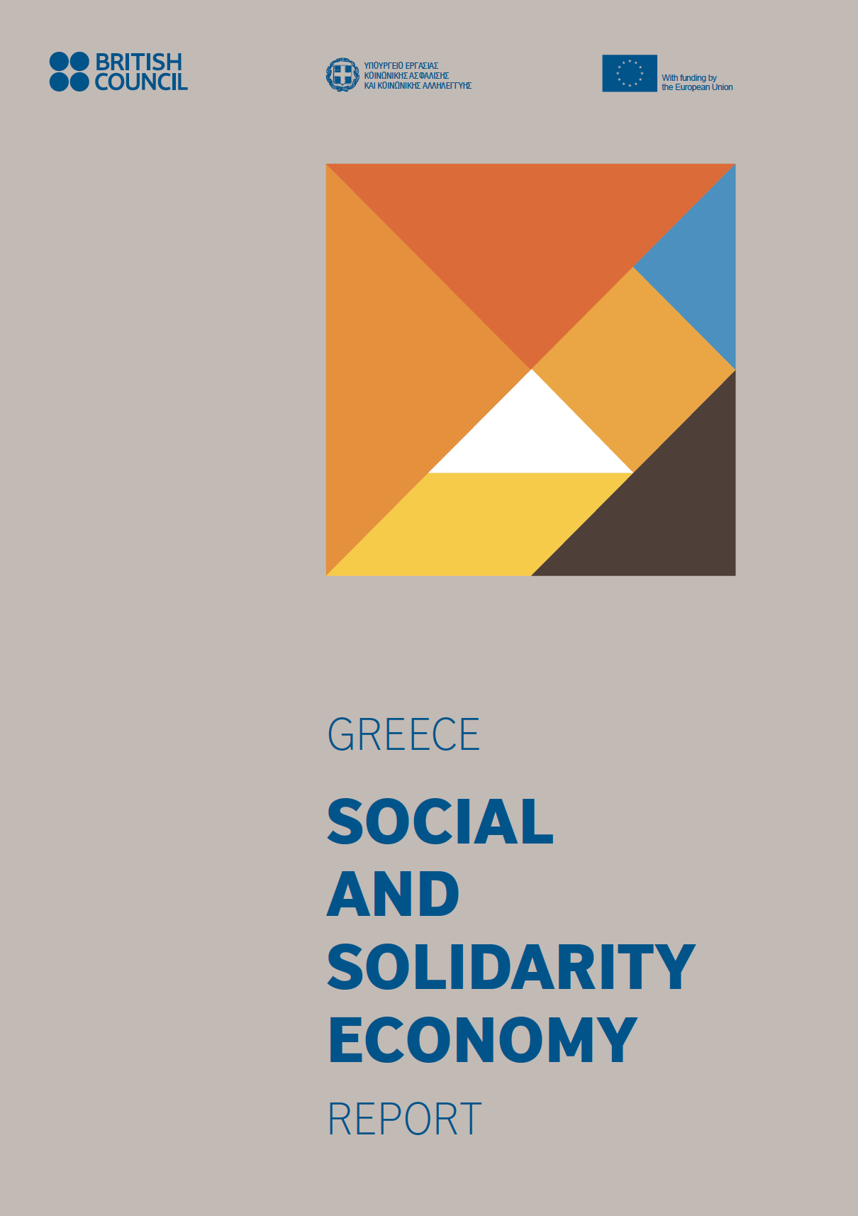 British Council Greece SSE report cover