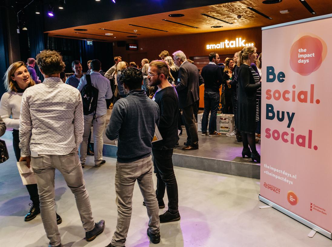 Buy Social Amsterdam event