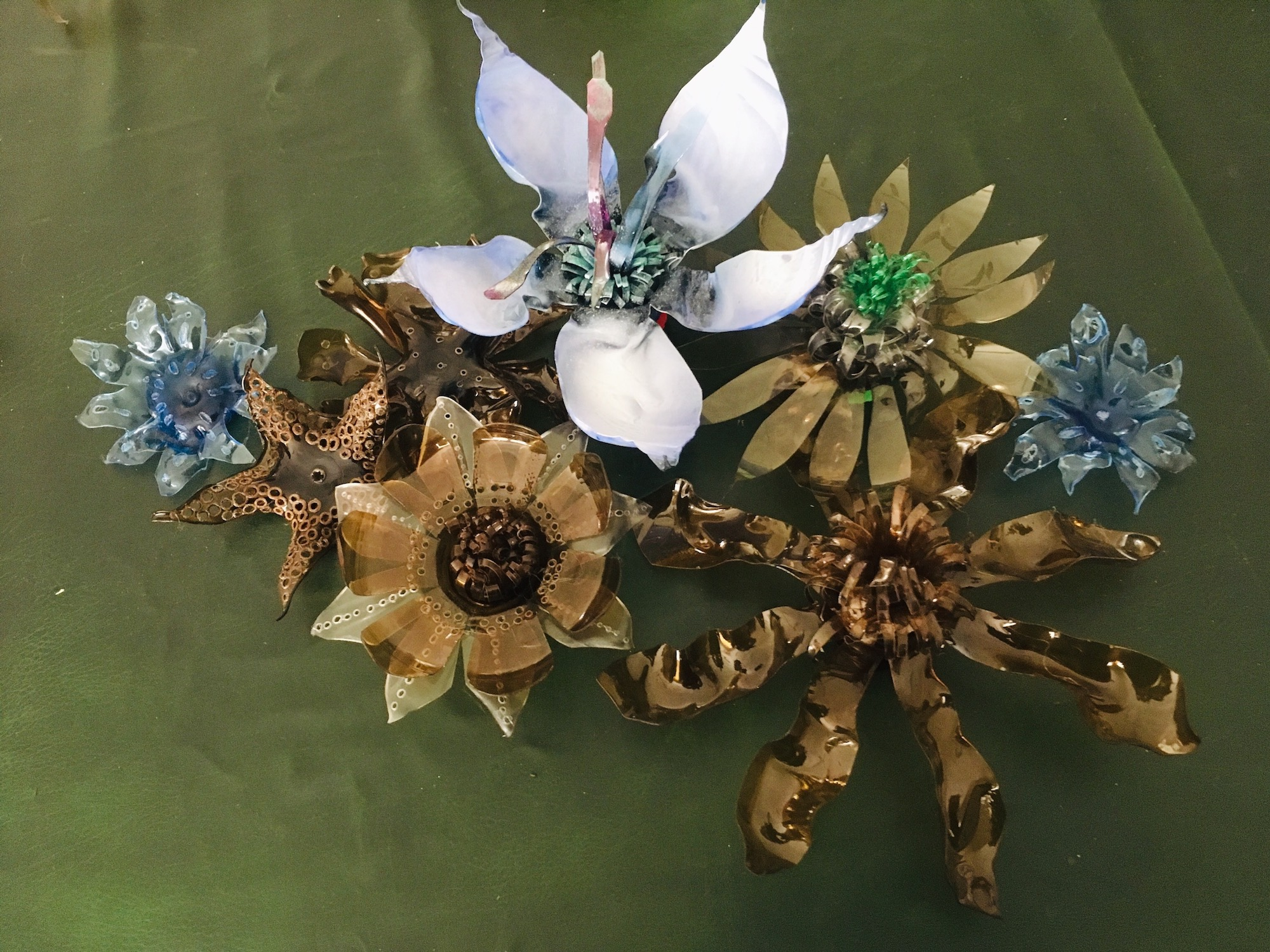Christmas decorations made by Dreamcatcher Foundation