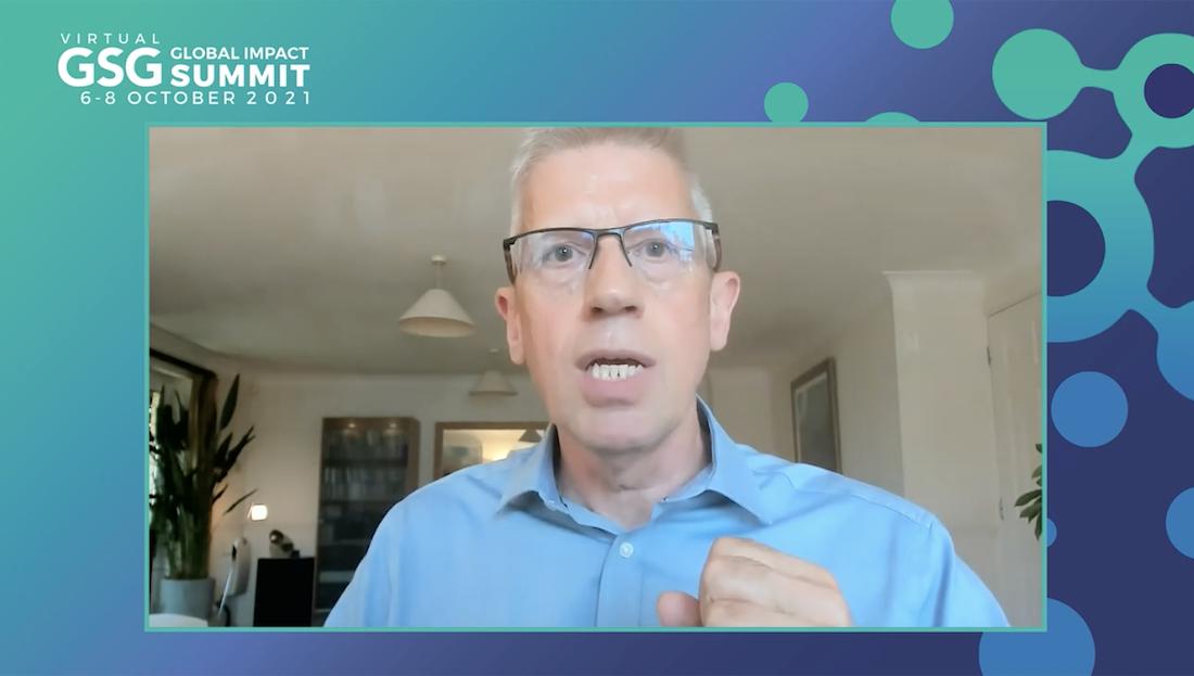 Cliff Prior GSG summit 2021