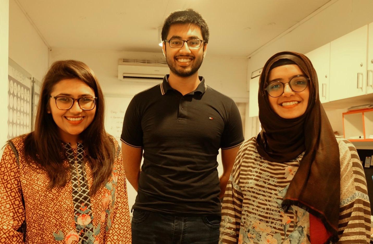 Founders of ConnectHear Pakistan social enterprise