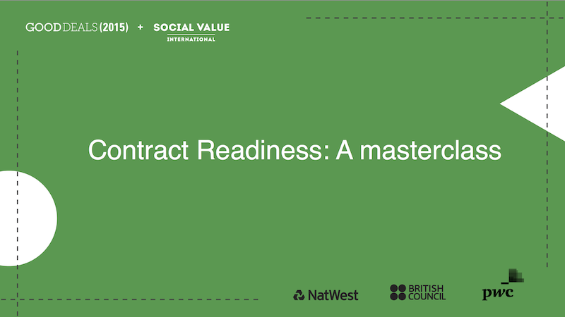 Contract readiness: A masterclass