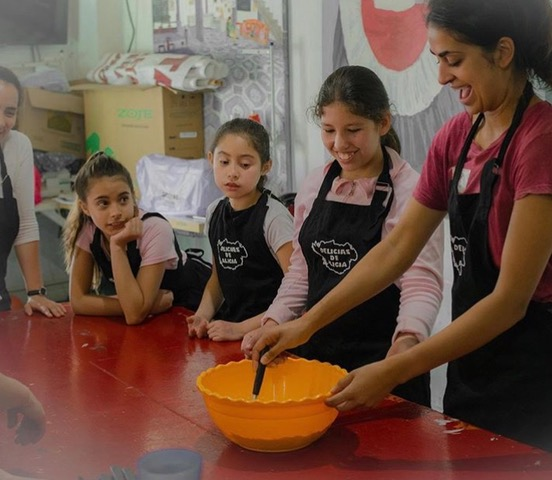 Delices de Alicia Argentina Buenos Aires social enterprise catering food education