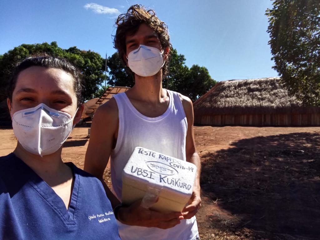 Doctor Giulia and nurse - Iptase Village
