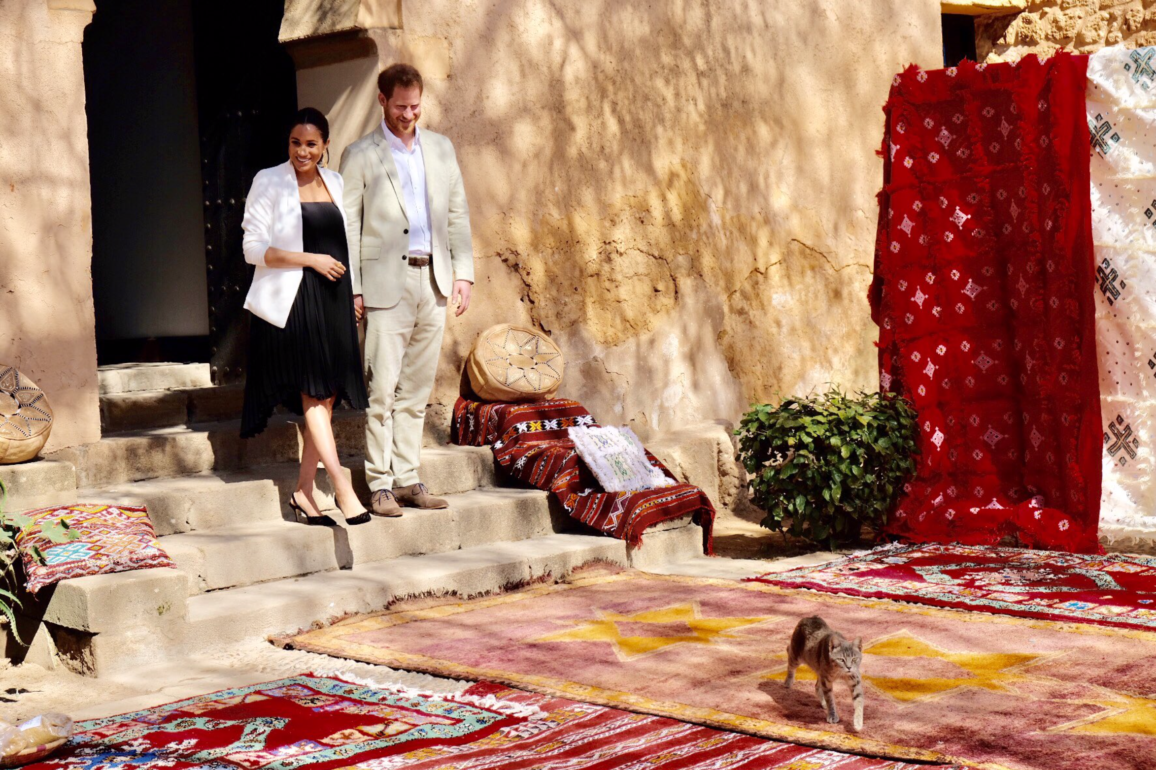 Duke and Duchess Morocco visit