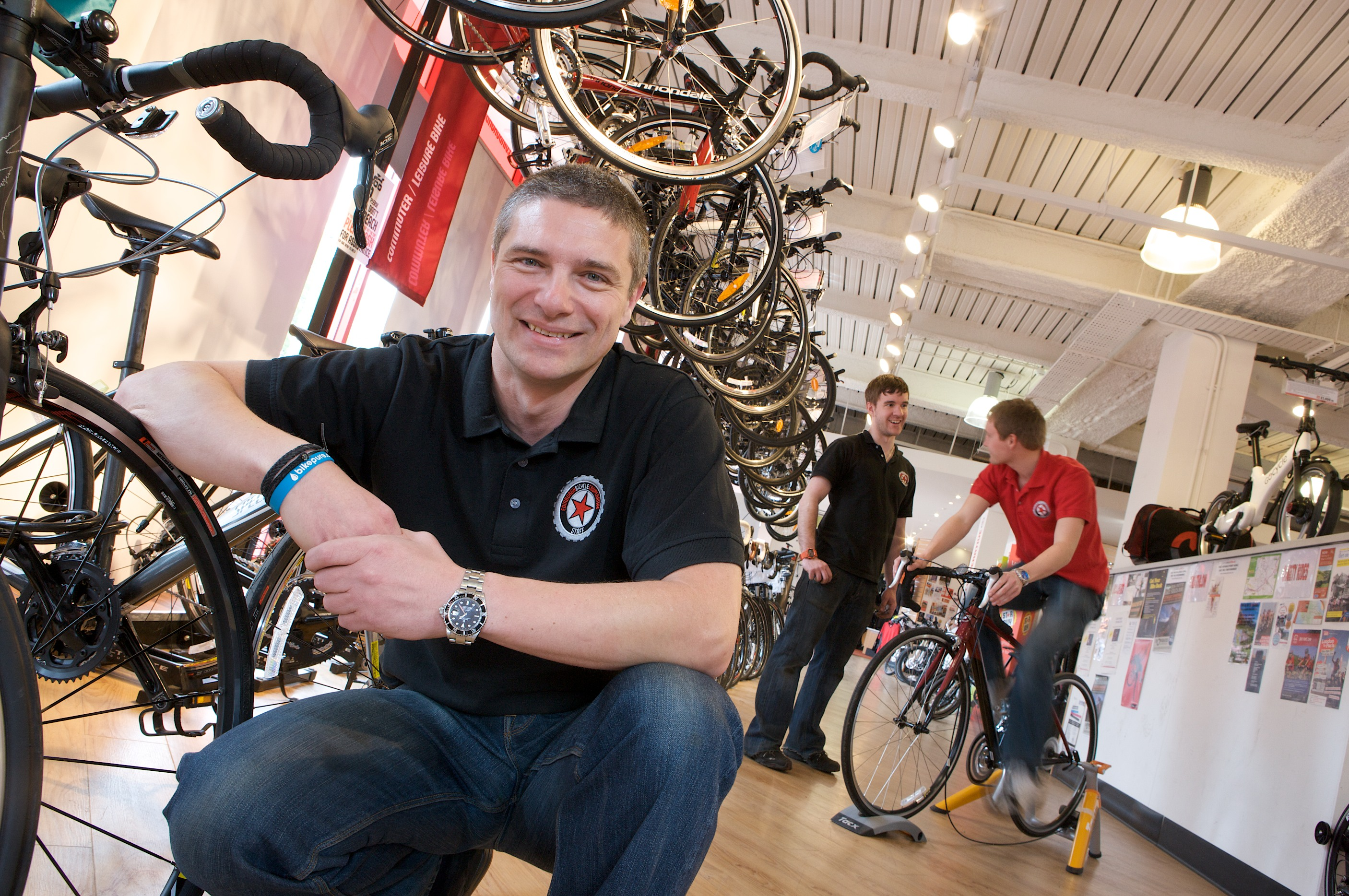 Edinburgh Bike co-op Co-operatives UK Scotland