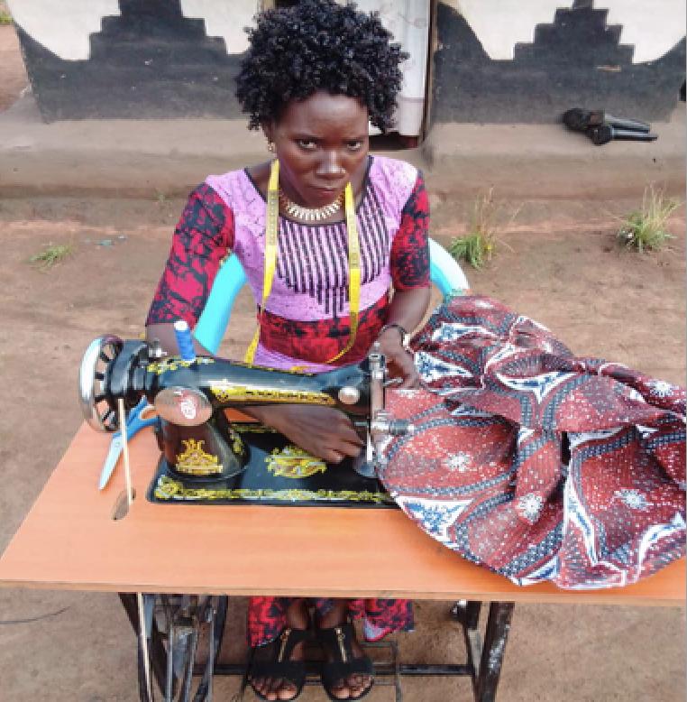 Esther Yanya refugee tailor