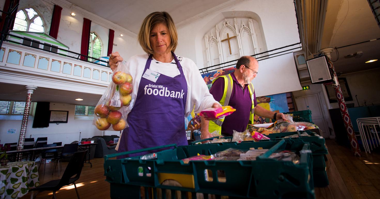 Food surplus donations