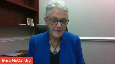 Gina McCarthy White House national climate advisor.