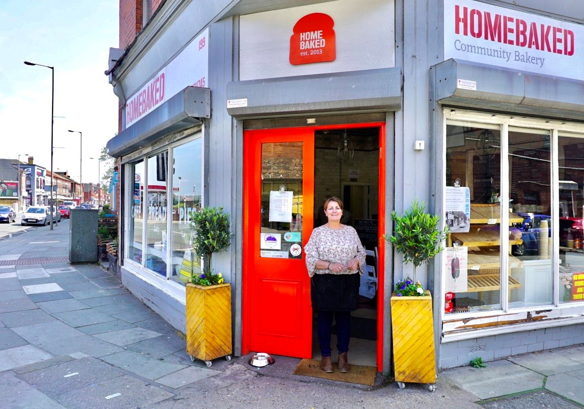 Homebaked - Angela McLay (founder)