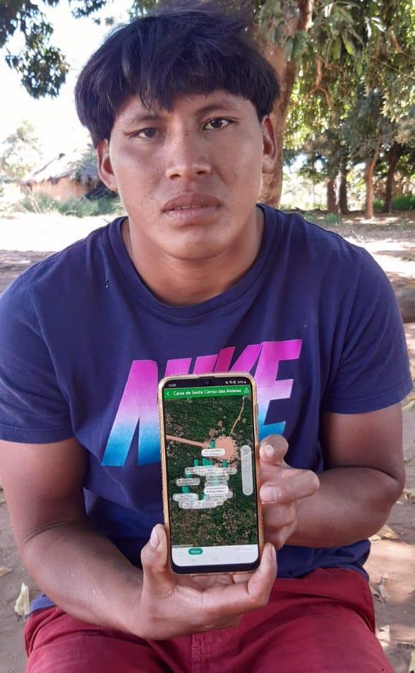 Huke Kuikuro - indigenous technician - credit AIKAX