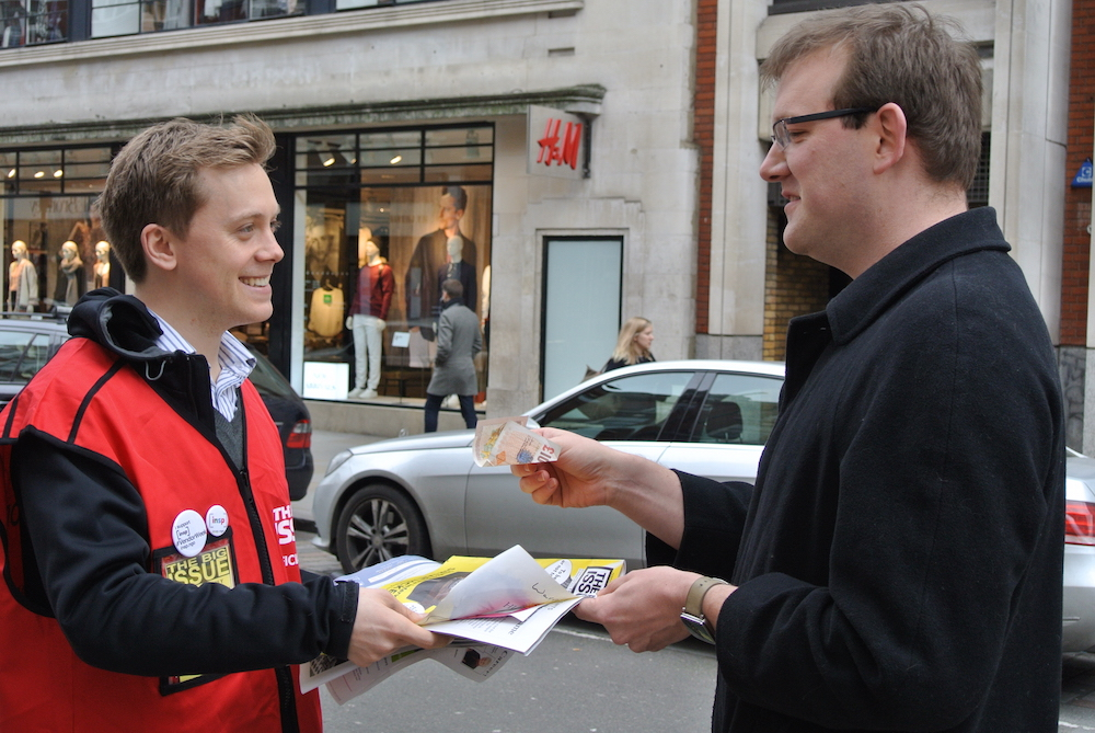 INSP Vendor Week_Owen Jones in London Covent Garden