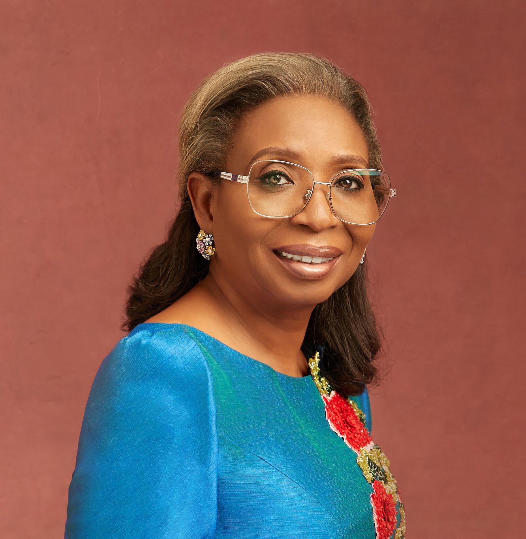 Portrait of Ibukun Awosika, First Bank Nigeria