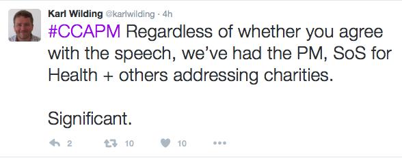 Karl Wilding tweet