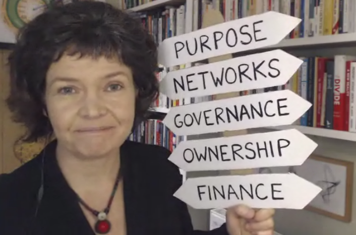 Kate Raworth design traits of business