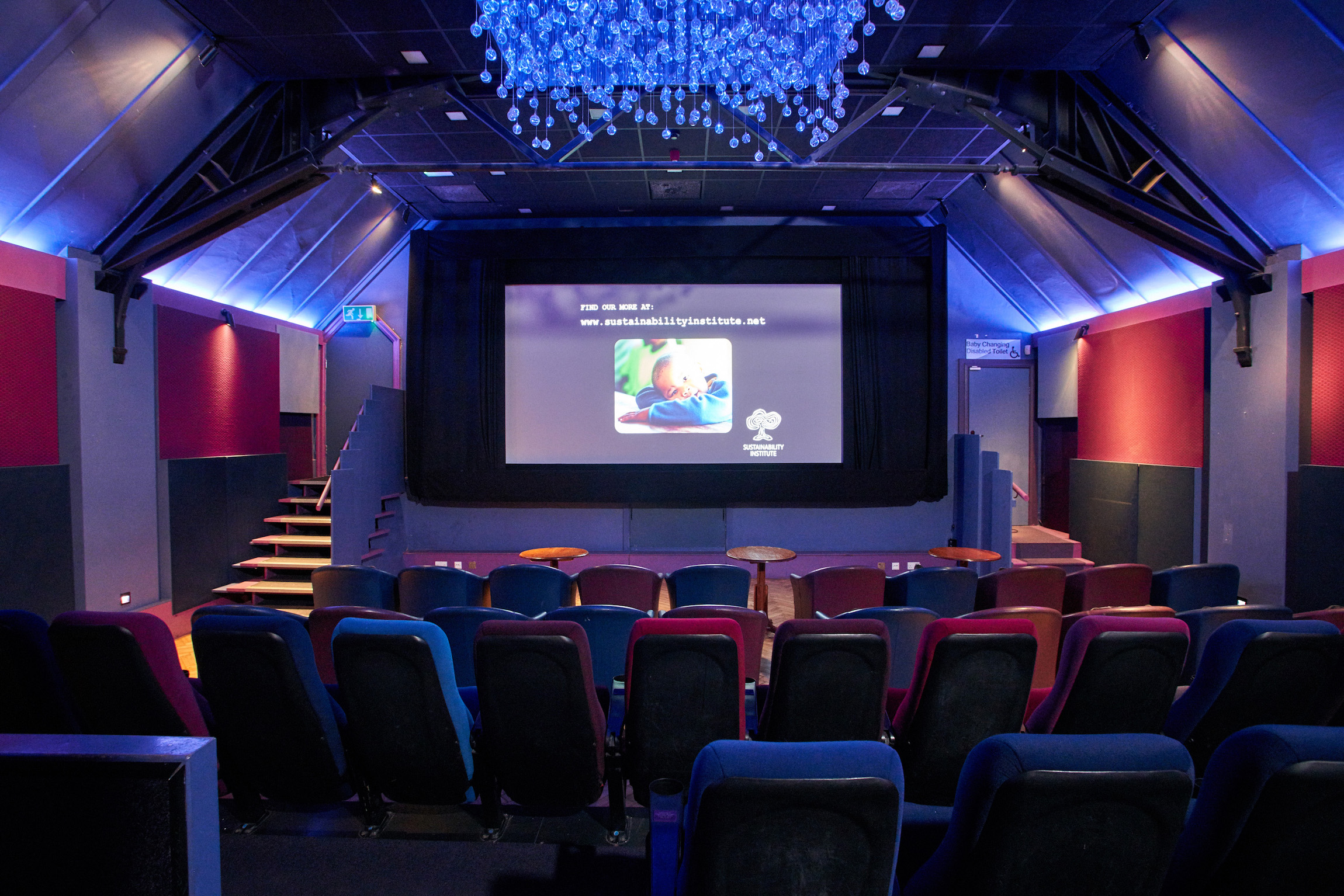 Lexi Cinema auditorium