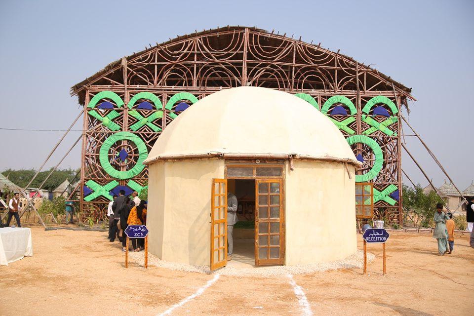 Makli Zero Carbon cultural centre