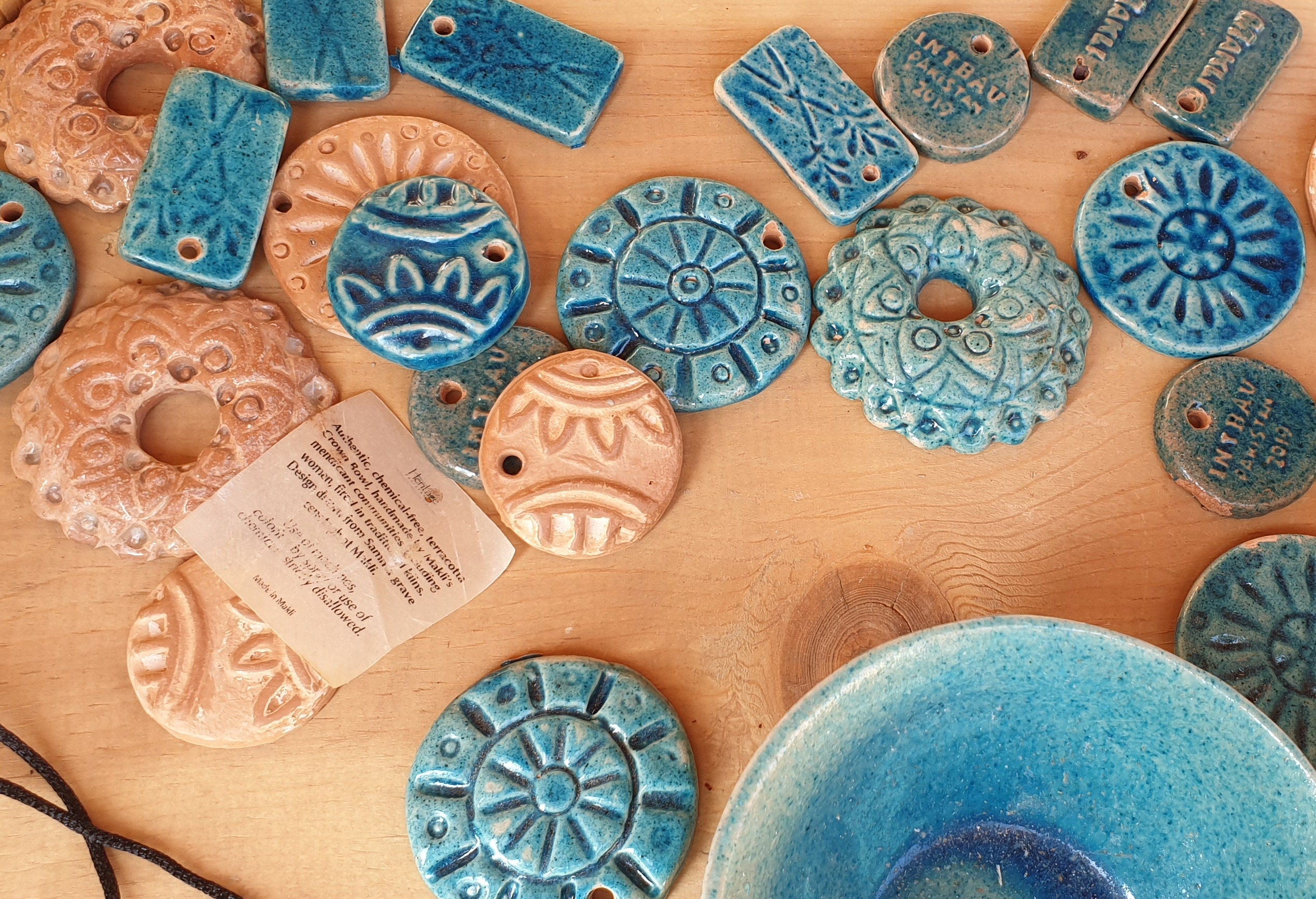 Makli terracotta jewellery