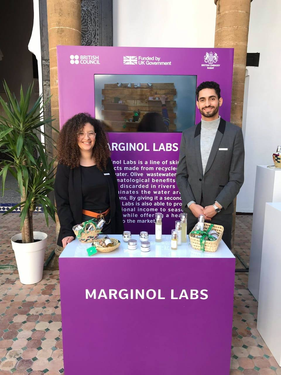 Marginol Labs Morocco social enterprise