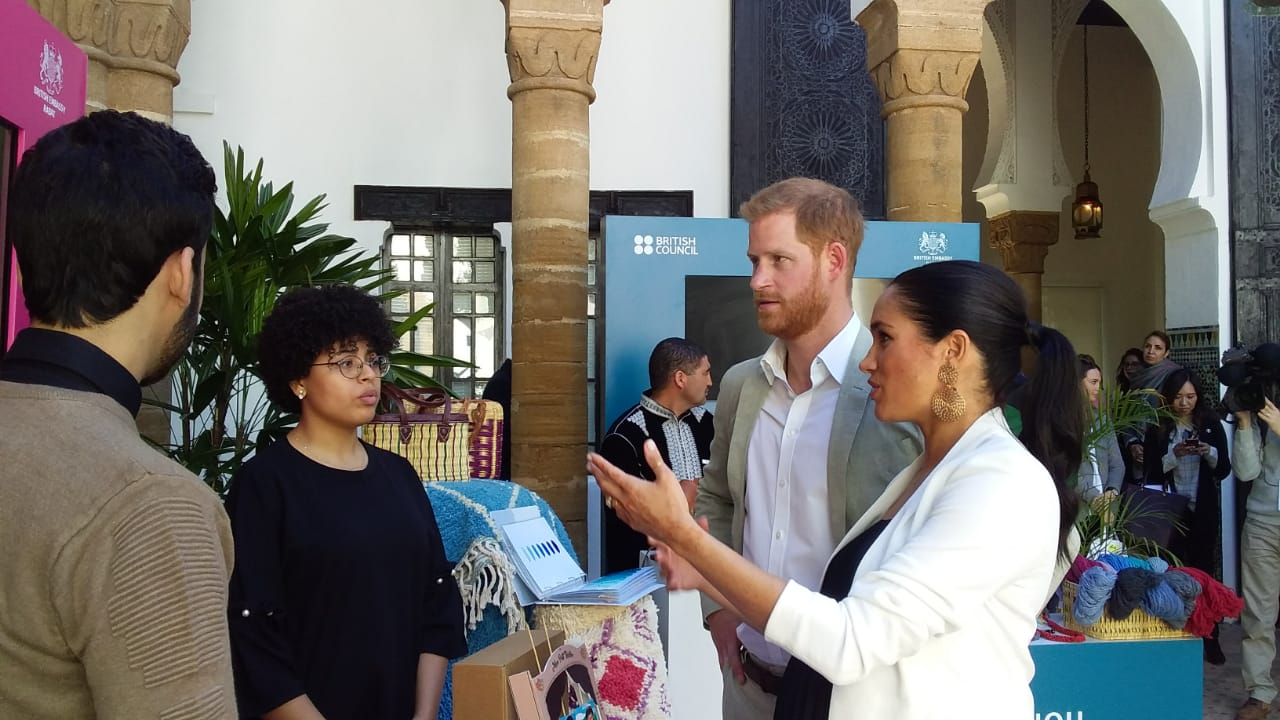 Morocco social enterprise No Box Lab Duke and Duchess of Sussex