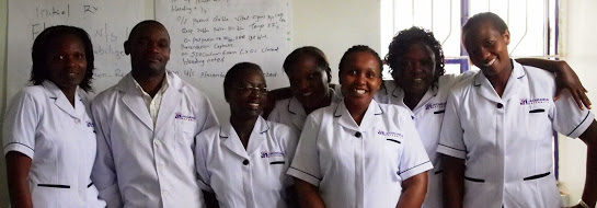Jacaranda Health centre nurses
