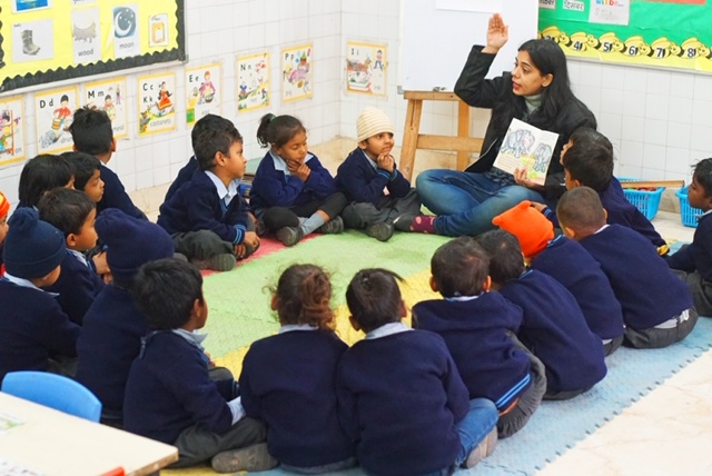 Peepul India - classroom