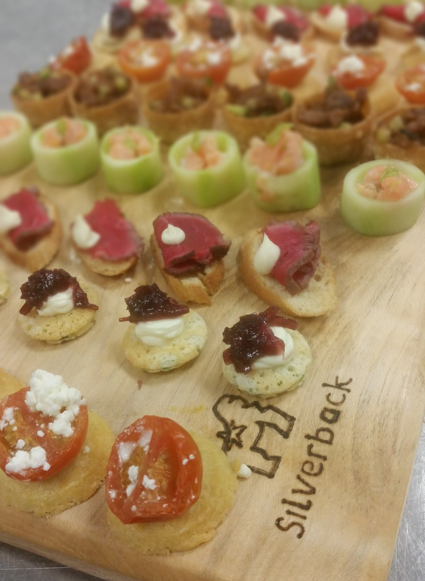Cafe Sunlight canapes