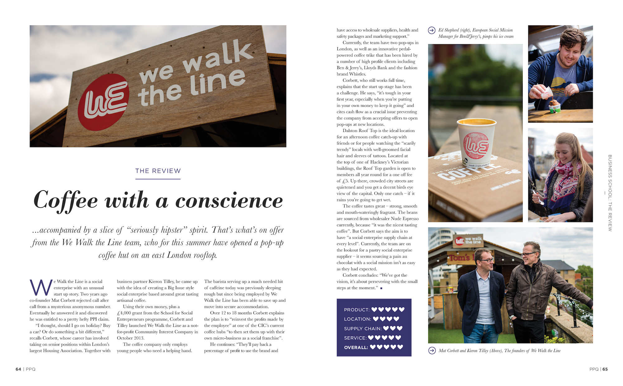 We Walk the Line in Pioneers Post Quarterly