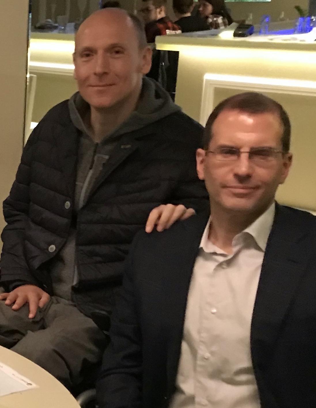 Piotr Pawlowski and Robert Manz