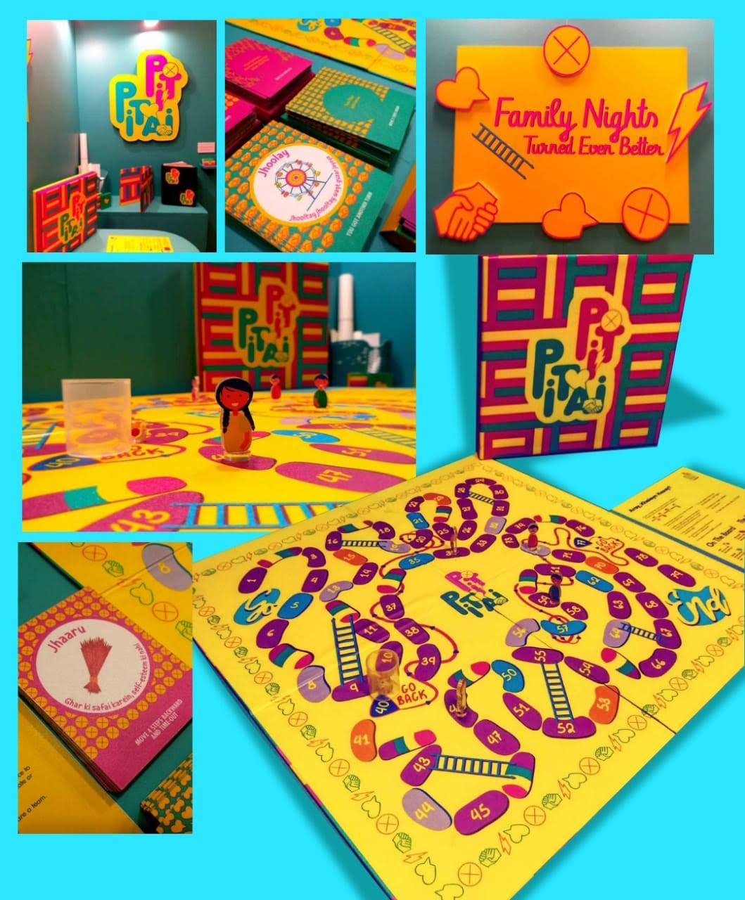 Pit Pitai board game RISE incubator Pakistan