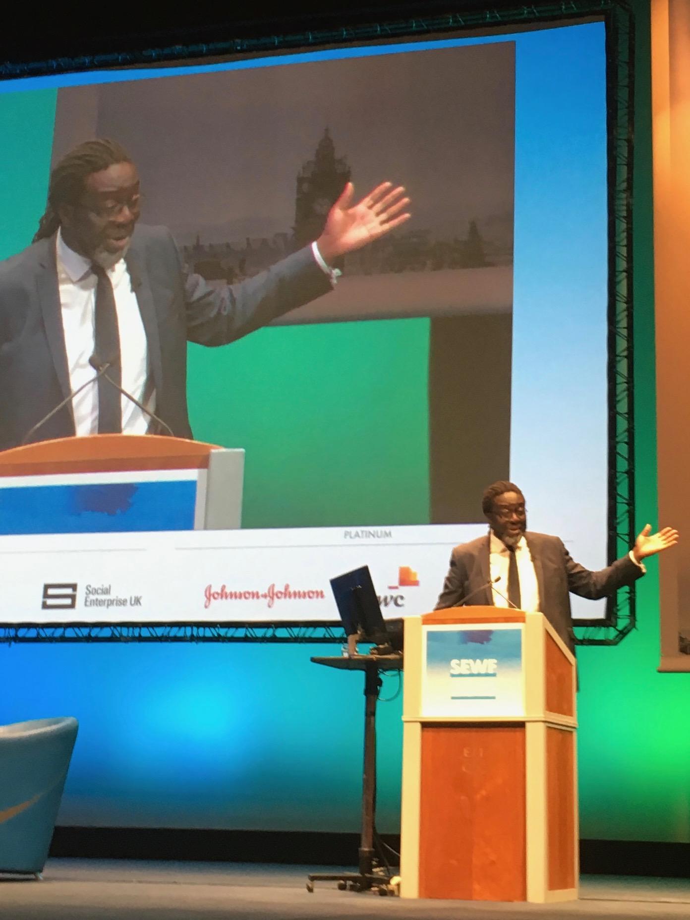 SEWF 2018 speaker Victor Adebowale