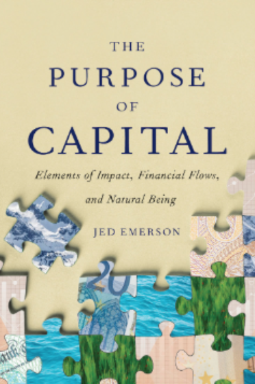 Purpose of Capital book cover