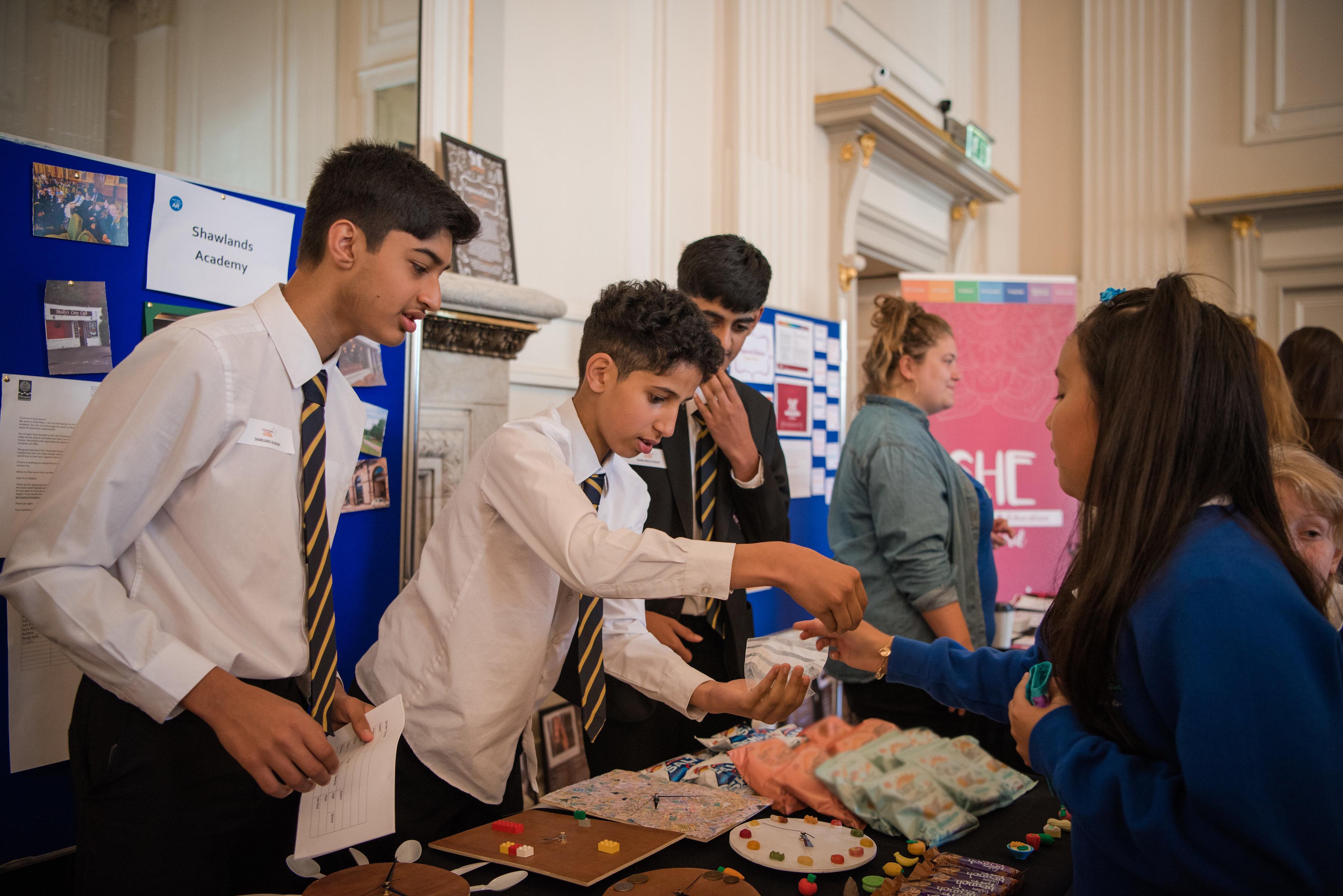 Social enterprise in schools Scotland Shawlands Academy