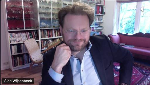 Siep Wijsenbeek, director of FIN
