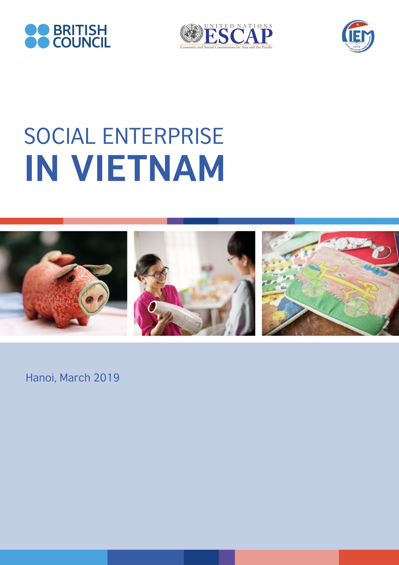Social Entrprise in Vietnam report cover