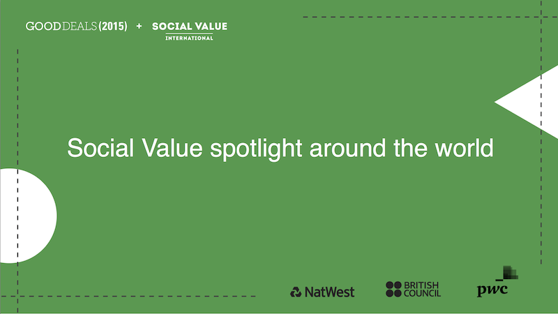 Social value spotlight around the world