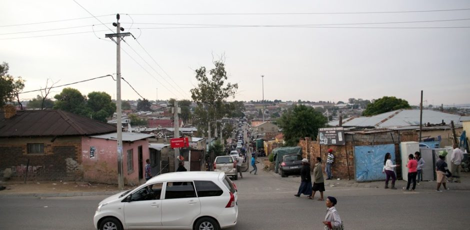 South Africa scene