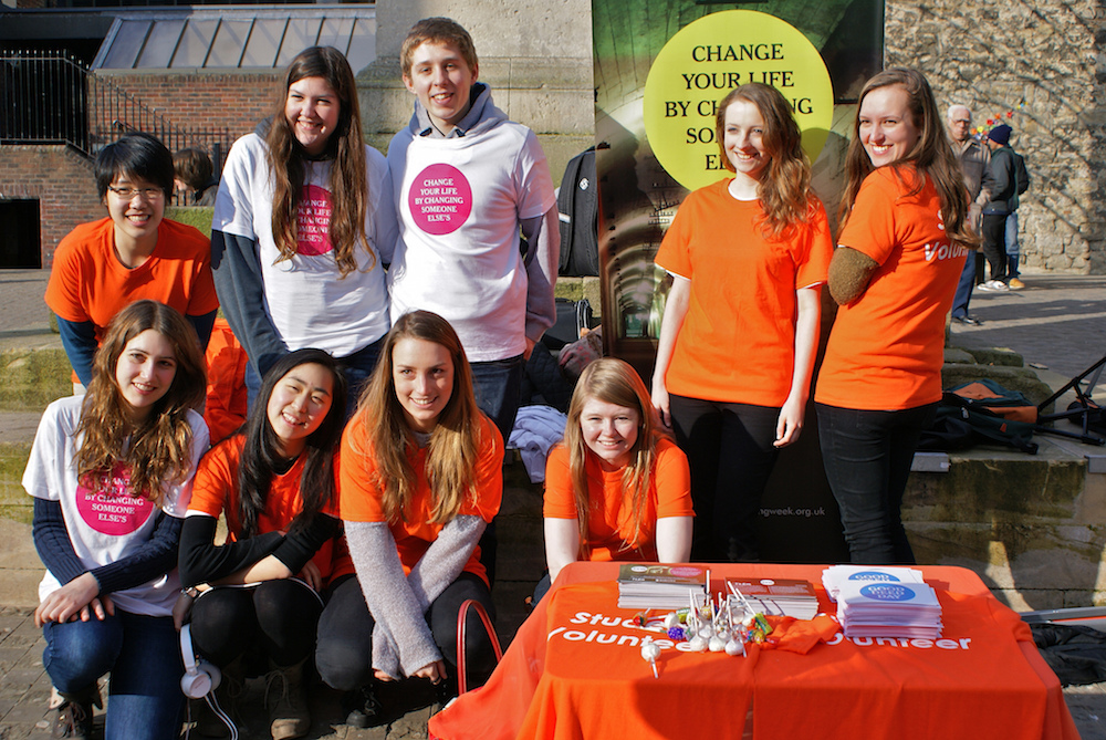 Student Volunteers_Student Volunteering Week_charity