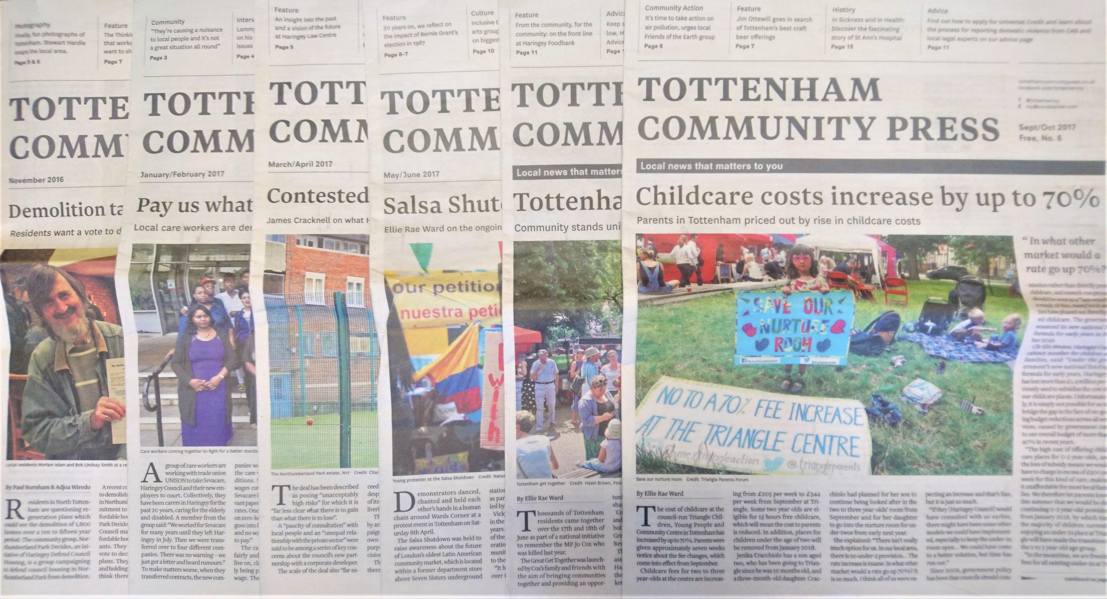 Tottenham Community Press