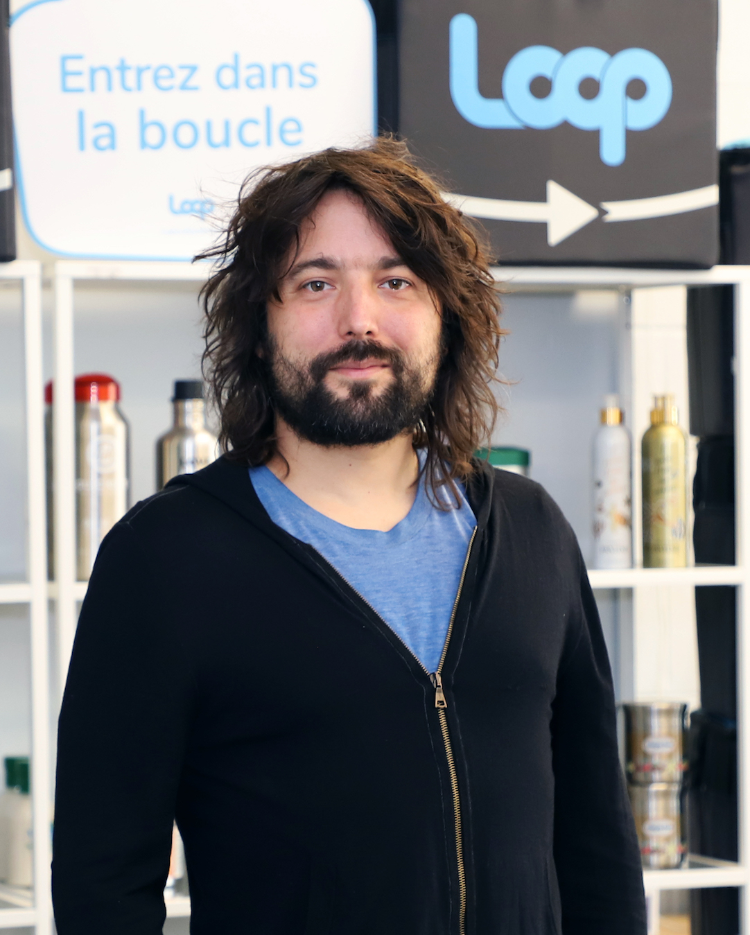 Tom Szaky Terracycle recycling ChangeNow Loop