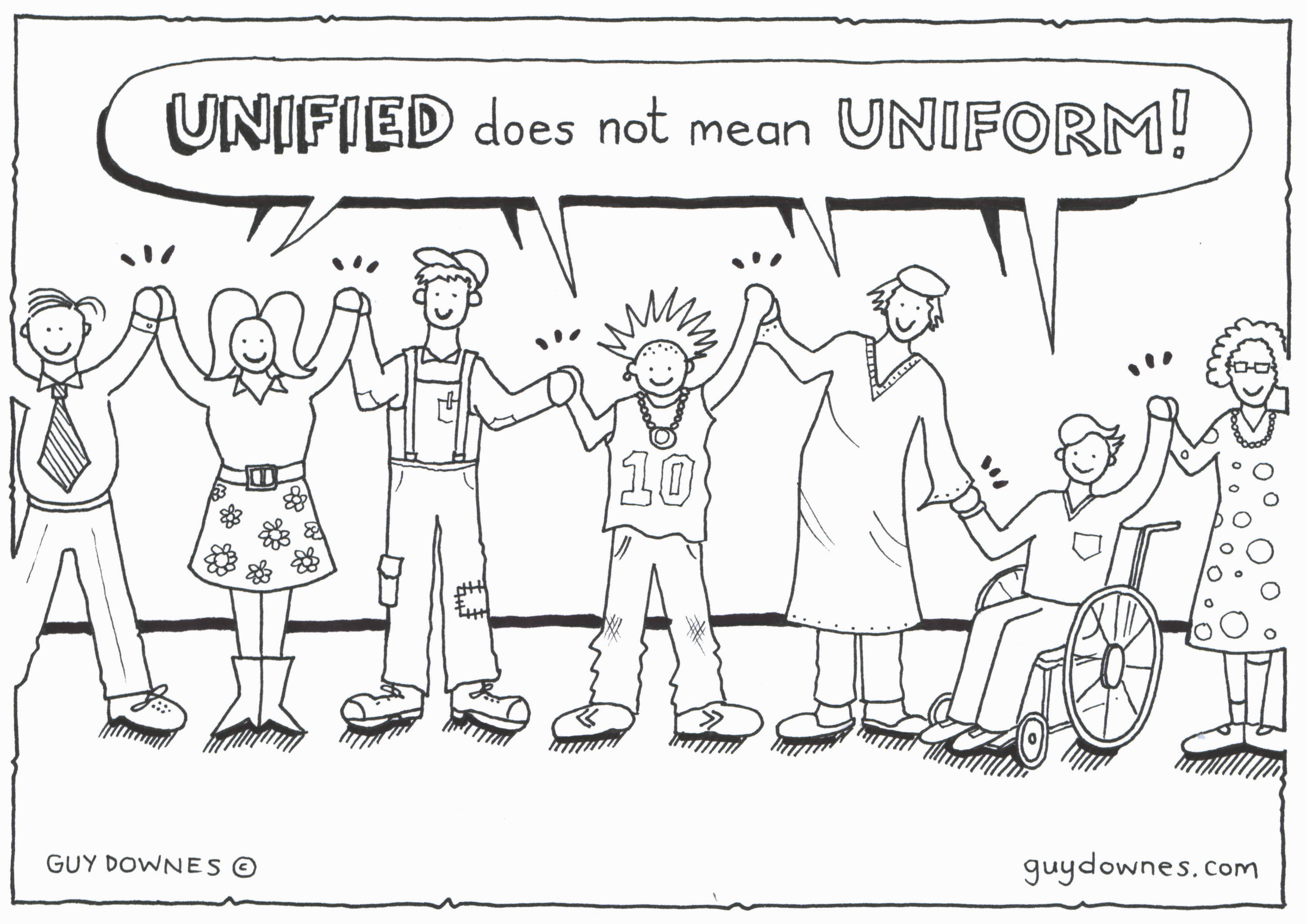 Unified does not mean Uniform