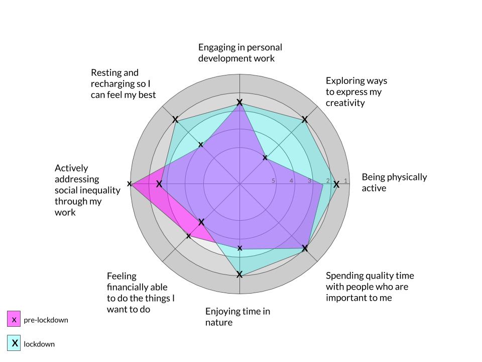 Wellbeing Wheel Example